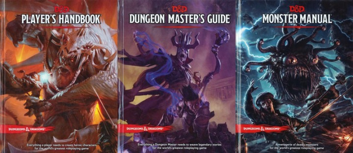 5e Books 3pack