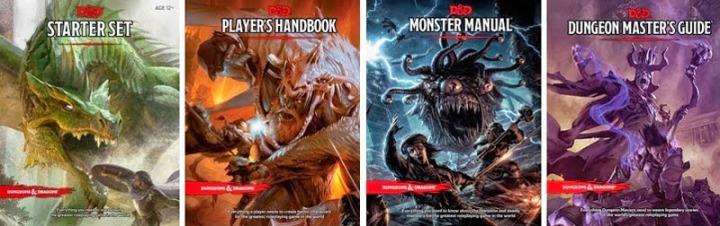 5e Books 4pack
