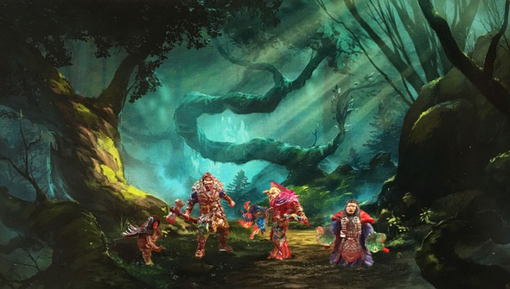 Forest w players