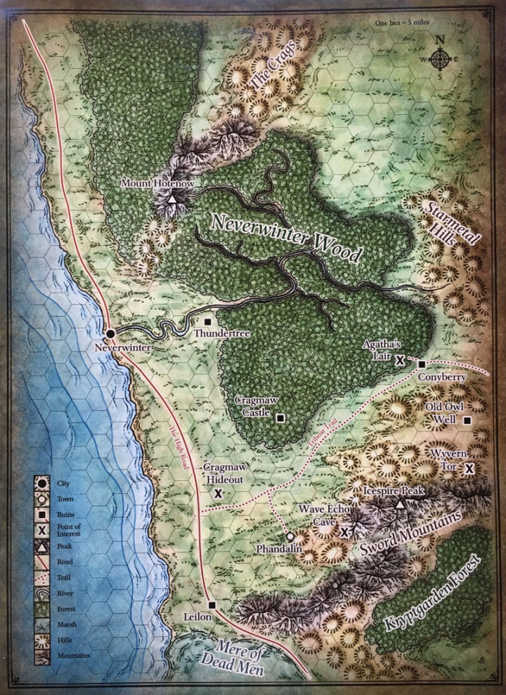 Phandelver Map Exterior DM