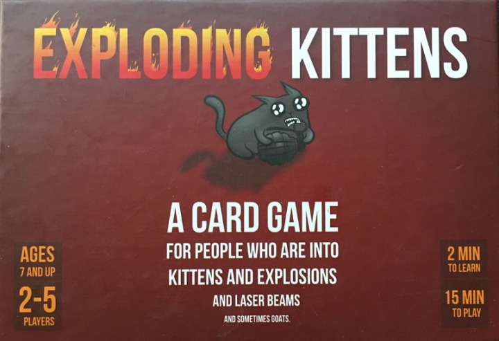 Travel Exploding Kittens