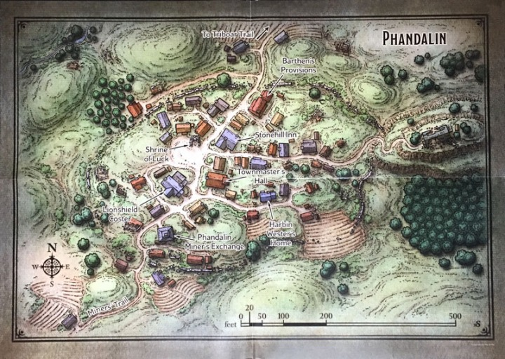 Ice Phandalin Map