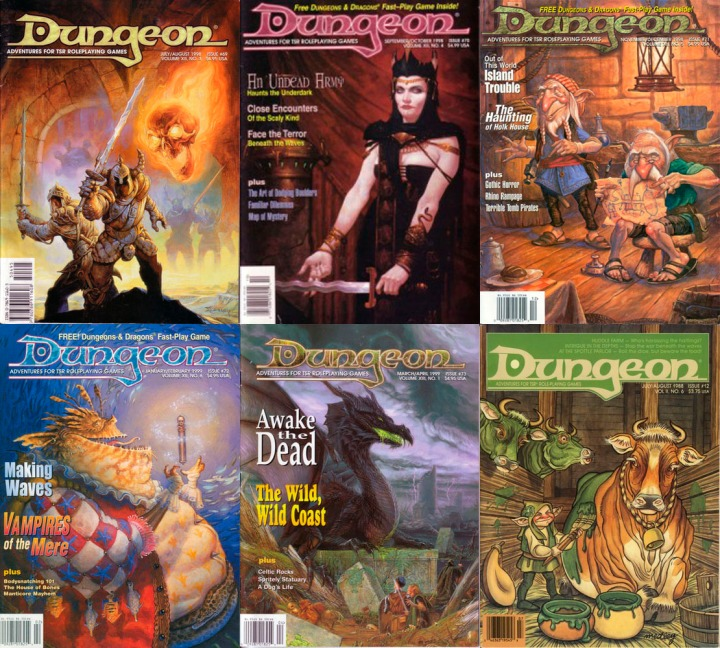 Dungeon Mag Mere Series