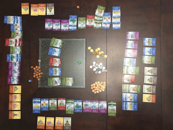 Machi Koro finish