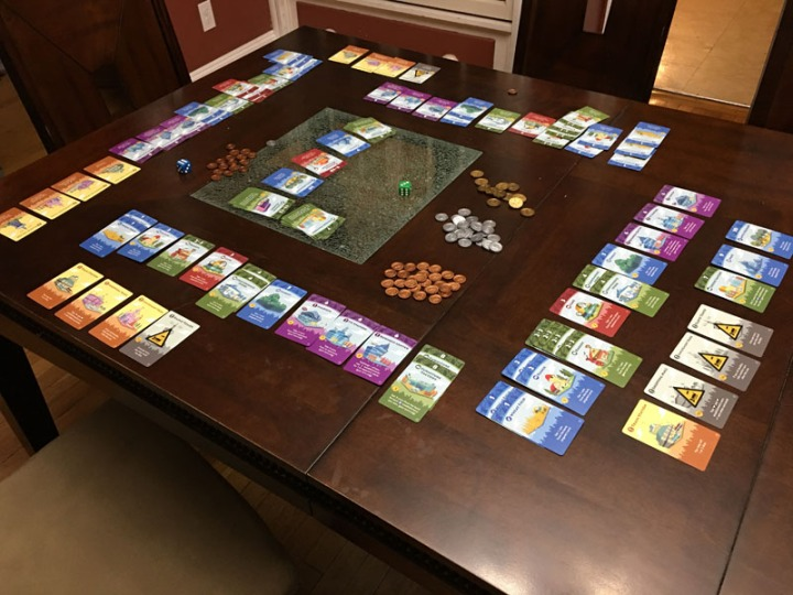 Machi Koro table