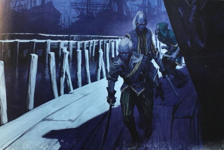 Drow Docks