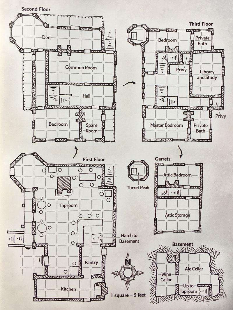 Map DH2.2 Trollskull Manor