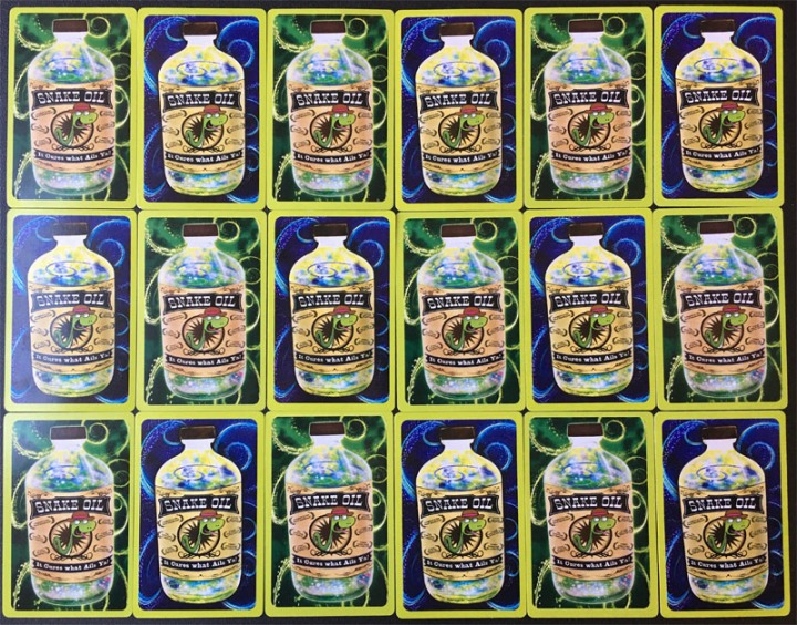 Snake Oil Cards