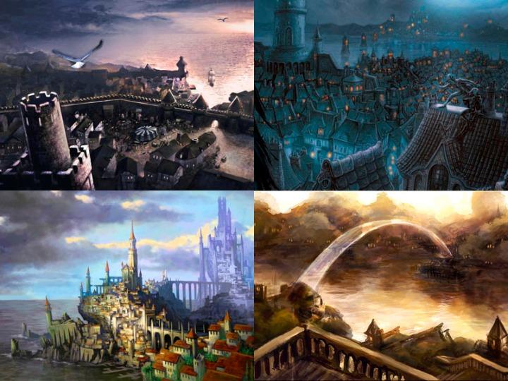 Sword Coast Cities