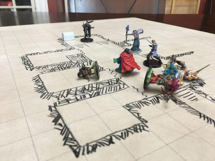 Half Orc Battle