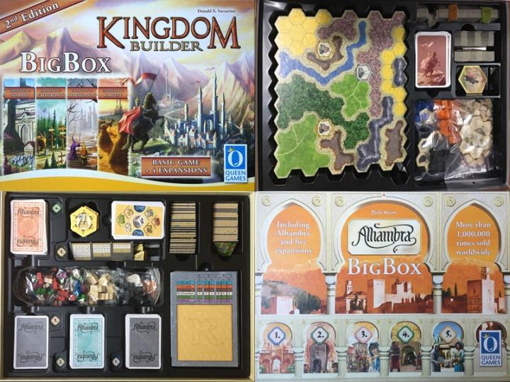 Alhambra Kingdom big box Storage