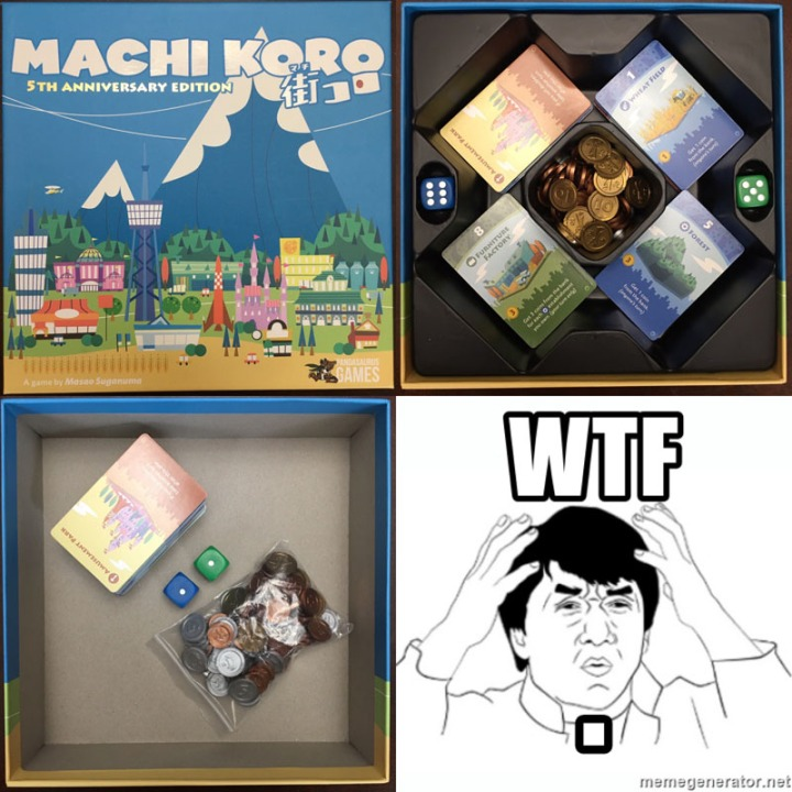 Machi Koro Storage