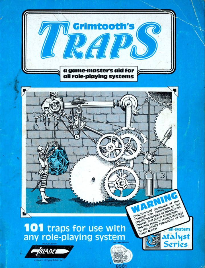 Grimtooth traps