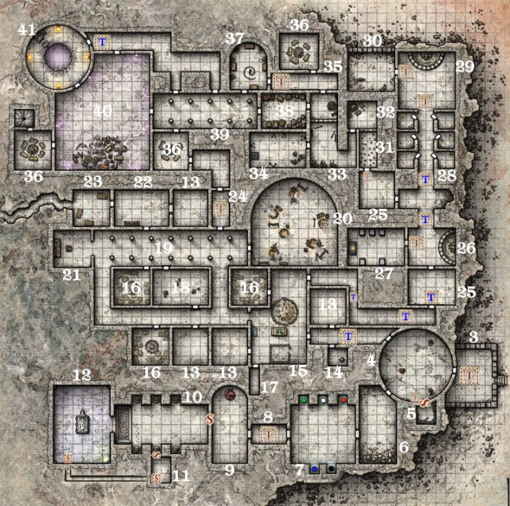 Sunless Citadel Level 1 mod DM