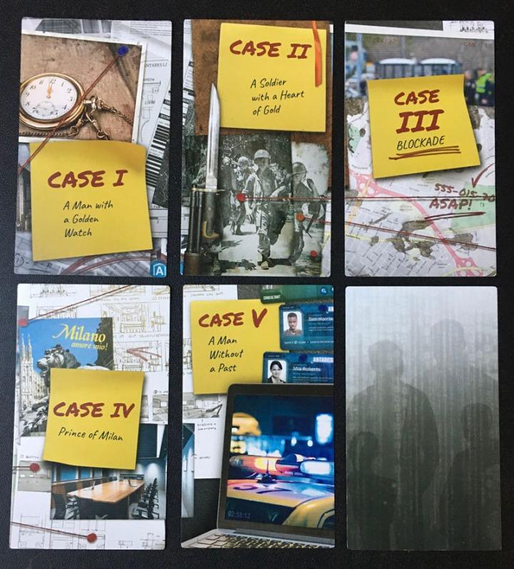 Detective Cases