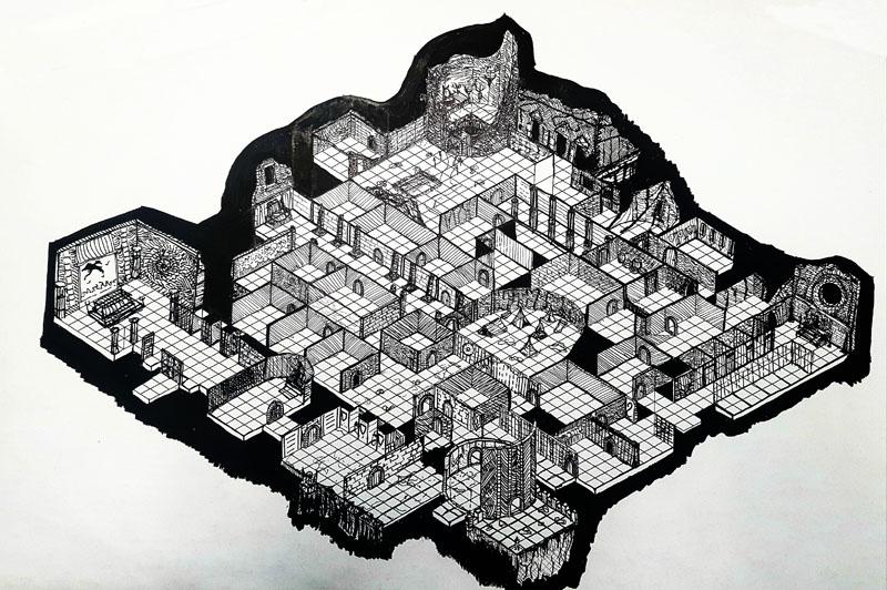 Sunless Citadel isometric
