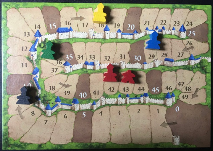 Carcassonne scorecard