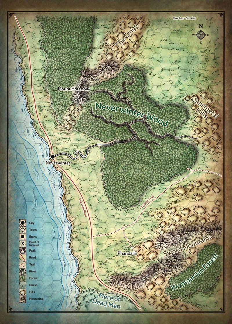 Ice Map Sword Coast PC