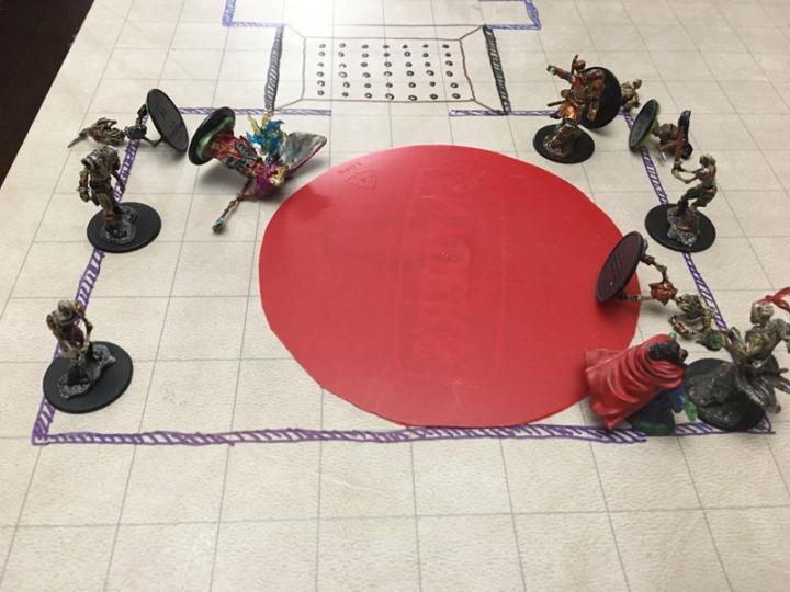 SC Deathlock battle mid