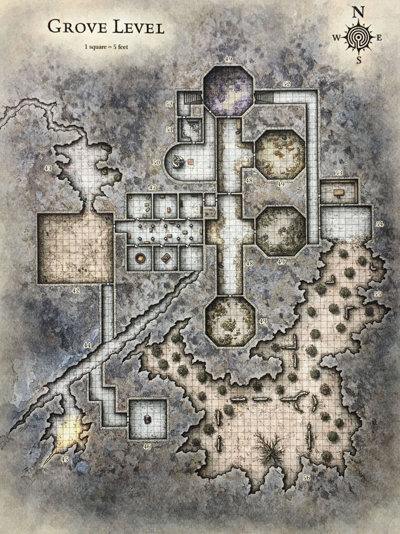 Sunless Citadel Level 2 DM