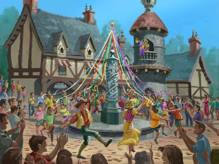 Disney maypole2