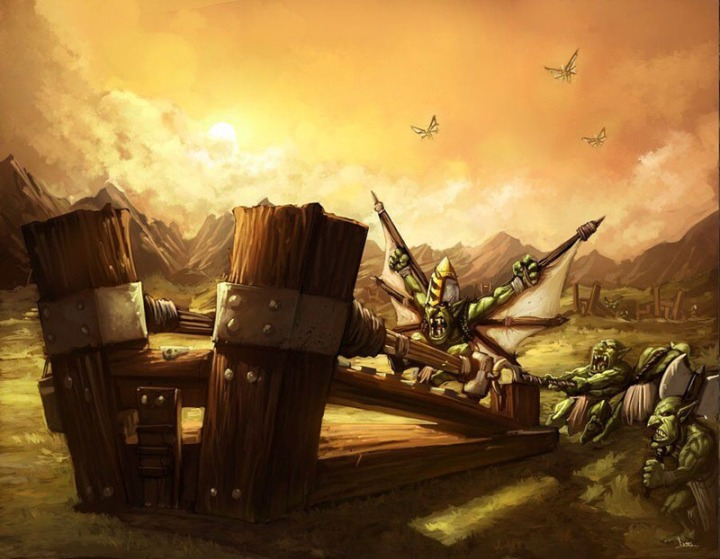 Goblin catapult