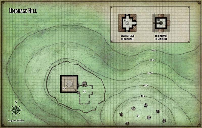 Ice Map Umbrage Hill DM