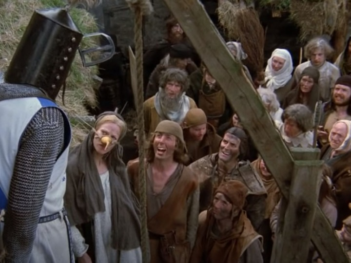 Monty Python peasants