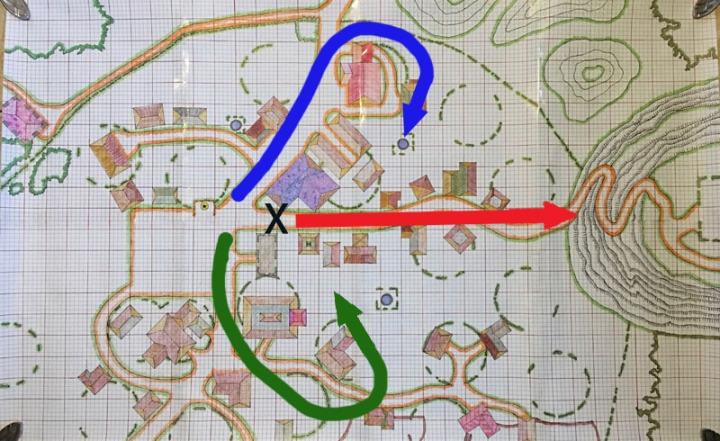 Phandelver Map Phandalin Battle Plans