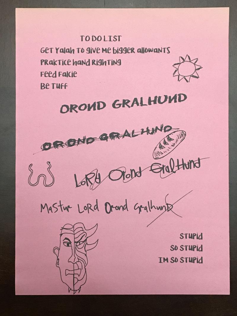 Gralhund Handout 2