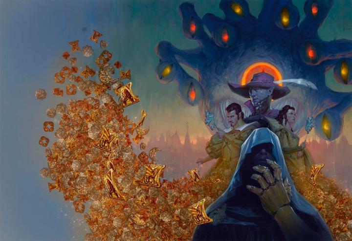 Waterdeep Dragon Heist cover painting