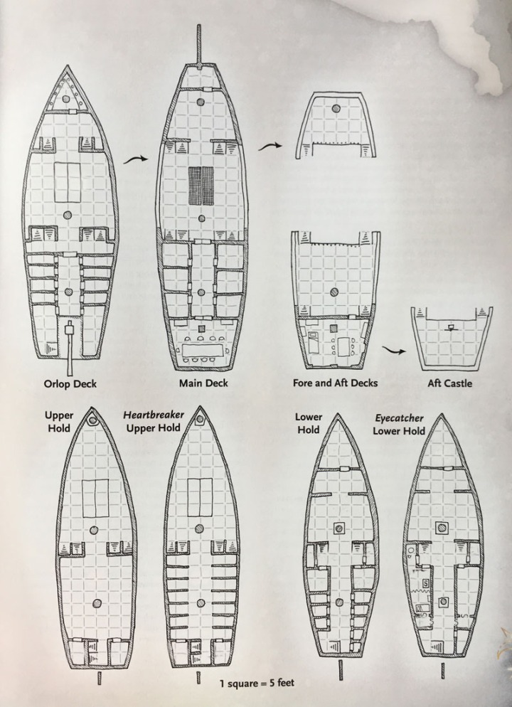 Map DH7.1 Sea Maiden Ships PC web