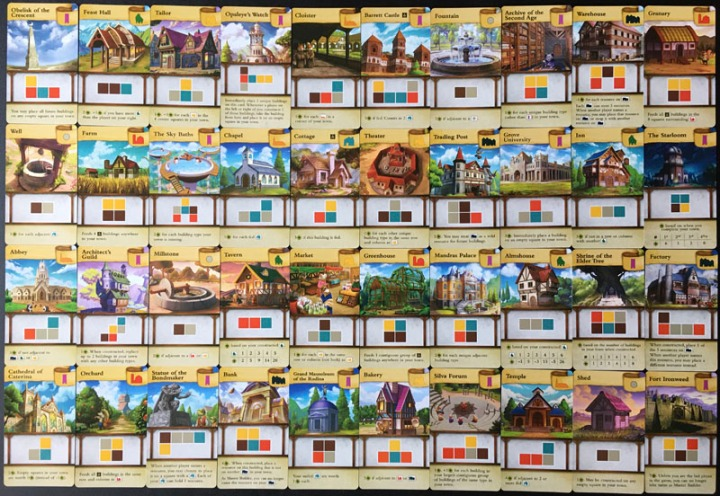 Tiny Towns Cards