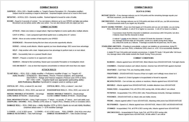 Combat Basics