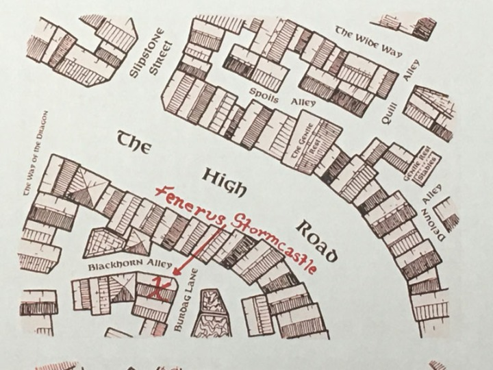 Map Jarlaxle