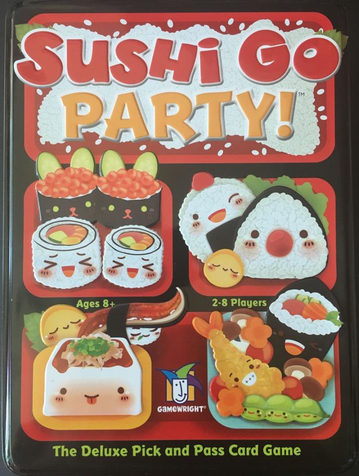 Sushi Go box