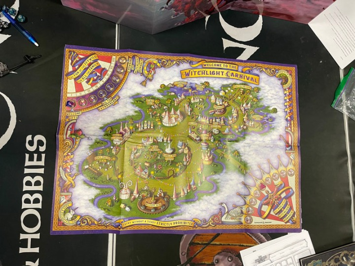Carnival Table Map